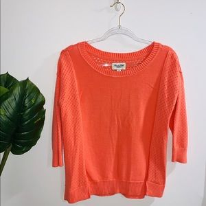 🦋 4/$30 American Eagle Coral Long Sleeve M-L